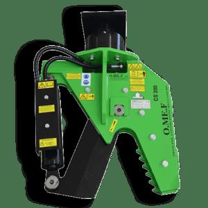 Lesní nůžky pro rypadlo OMEF - CS200
