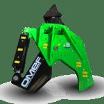 Lesní nůžky pro rypadlo OMEF - CS400H