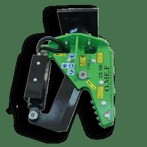 Lesní nůžky pro rypadlo OMEF - CS100