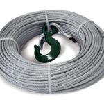Ocelové lano pro naviják DOCMA Forest