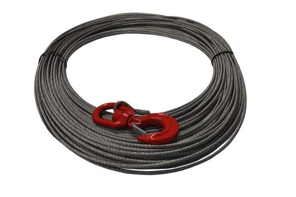 Ocelové lano pro navijak DOCMA