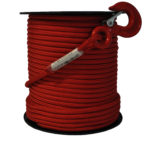 Textilní lano pro naviják DOCMA, vysoko pevnostní 12 mm, Forest VF-310207, červené 2300 kg