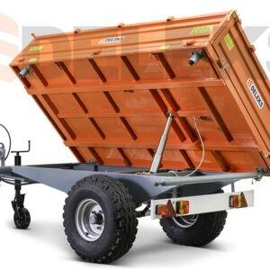 Přívěsné vozíky k traktoru DELEKS