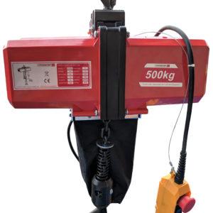 Elektrický řetězový kladkostroj CROSSFER BDH-500-10M s řetězem 10m