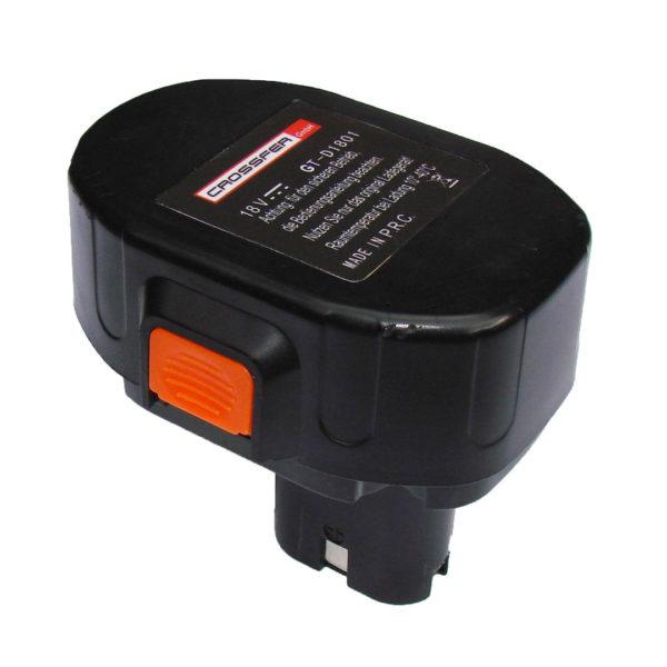 Baterie CROSSFER NICD-18V 1,7AH GT-D1801 pro listový ventilátor/dmychadlo