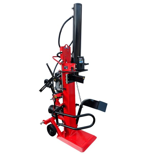 Vertikální štípač dřeva CROSSFER 110 cm PTO + 400V LS30T-PTO + E400 Hybrid