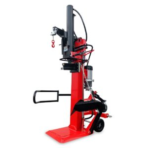 Vertikální štípač dřeva CROSSFER LS30T PTO 110 cm PTO 400V E400 pro pohon PTO nebo 400V Hybrid, včetně navijáku