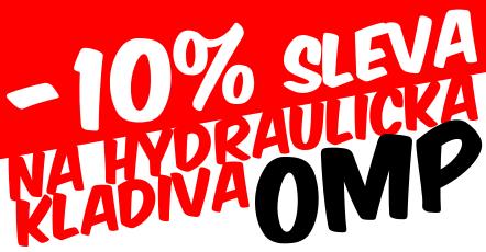 Hydraulická kladiva OMP SLEVA