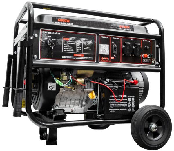 CROSSFER generátor 6,3 KW 230 V s elektrickým startem (elektrická centrála)
