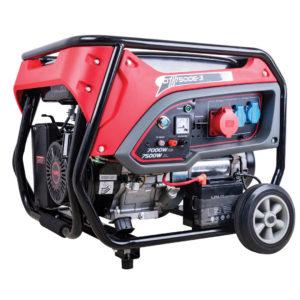 Benzínový generátor CROSSFER 7,5 KW 230 V + 400 V s elektrickým startem