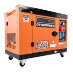 Dieslový generátor CROSSFER 5,5 kW 230 V + 400 V s elektrickým startem