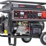 Benzínový generátor CRROSFER 5,5 KW 230 V + 400 V s elektrickým startem (100000692)