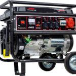 Benzínový generátor CRROSFER 5,5 KW 230 V + 400 V bez elektrického startu (100000728)