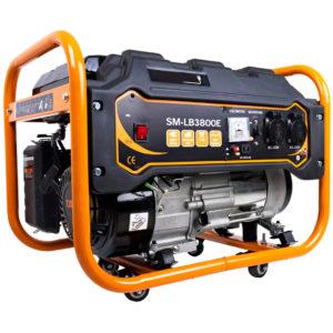 Benzínový generátor CROSSFER Strahlemann 3,3kW 230V s elektrickým startem